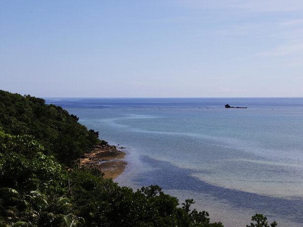 東岸の海側の絶景