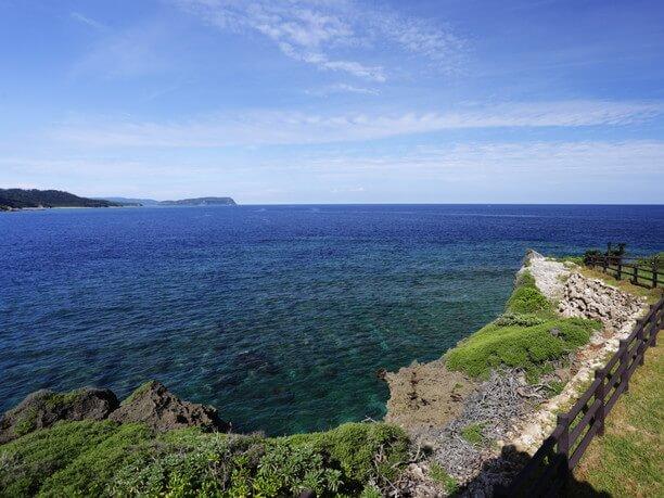 麗しい海岸線
