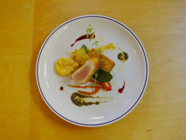 イタリアン料理の一皿