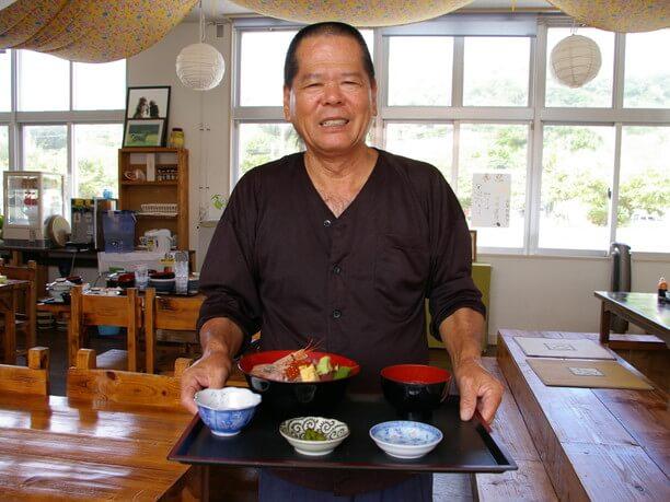 料理人の浦崎重雄さん