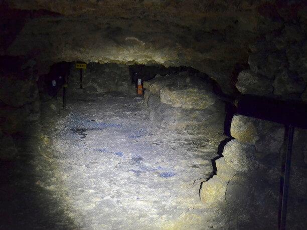南側の一番奥のスペース
