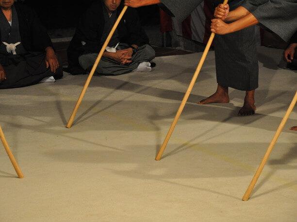 仲筋村の舞台