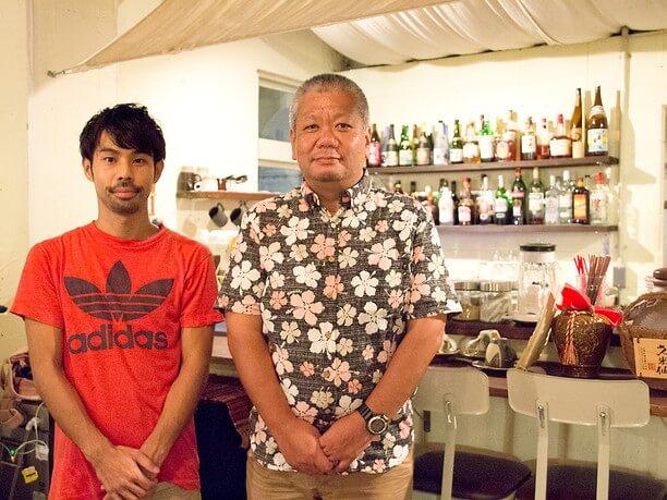 写真左:店長の田代さん、写真右:三枝さん