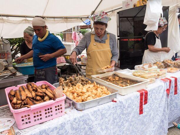 並里鮮魚店の天ぷら
