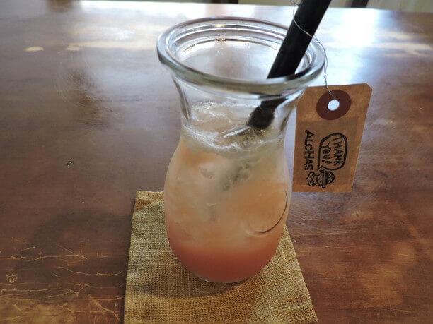 アロエベラとグアバのジュース
