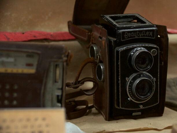 阿波根さんが購入した高価なカメラ