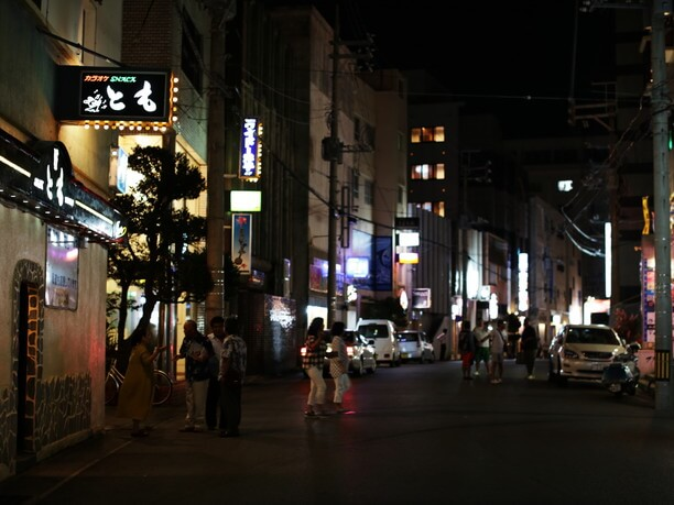 ナイトタイムの美崎町