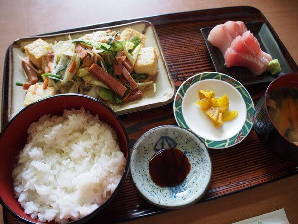 豆腐チャンプル定食