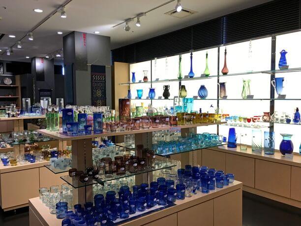 琉球ガラスの販売