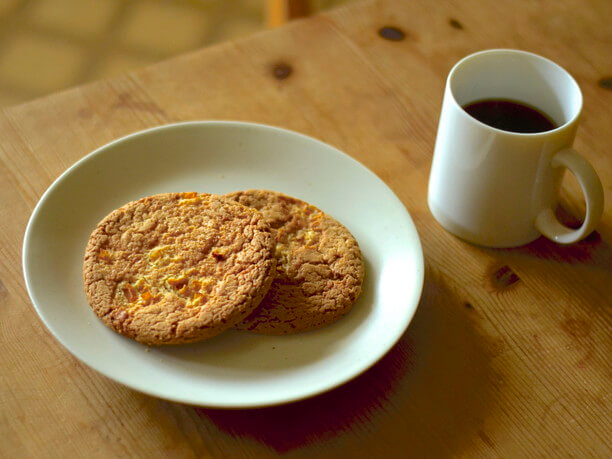 チャンキーな食感を楽しめるクッキー