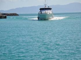 船で小浜島へ