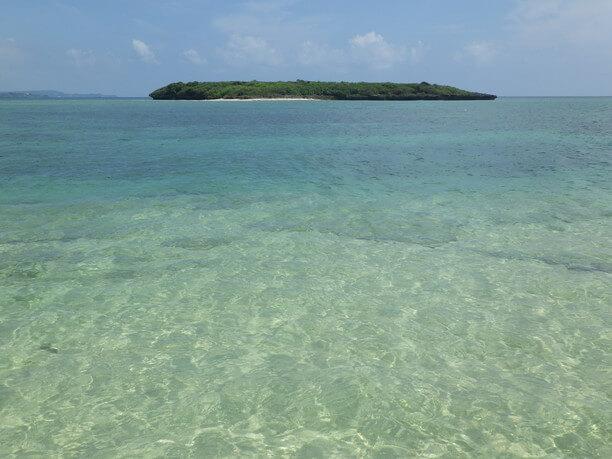 透明度の高い海水