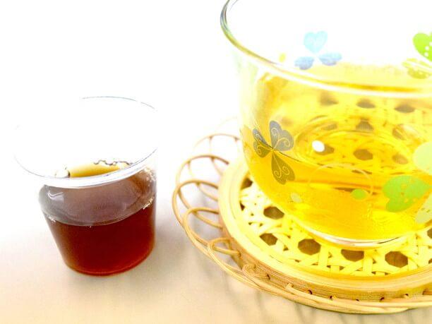 シークヮーサー&もろみ酢とさんぴん茶