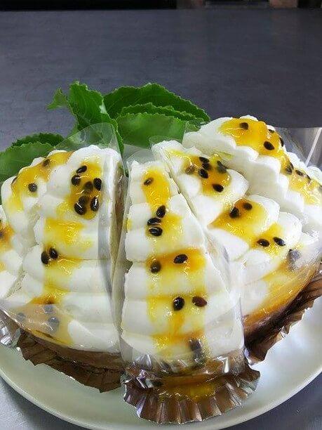 パッションフルーツレアチーズタルト