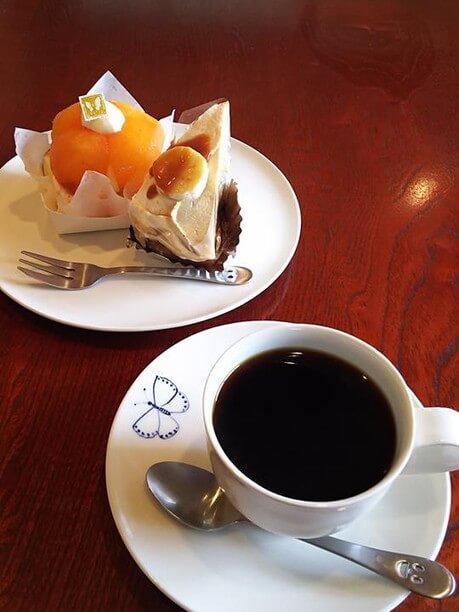 コーヒーとセット