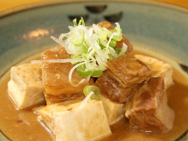 三枚肉の味噌炒め