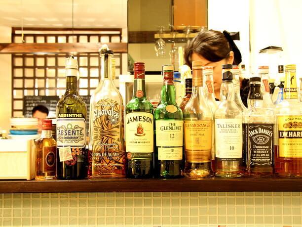たくさんの瓶