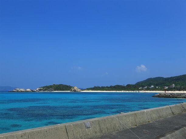 漁港の展望台