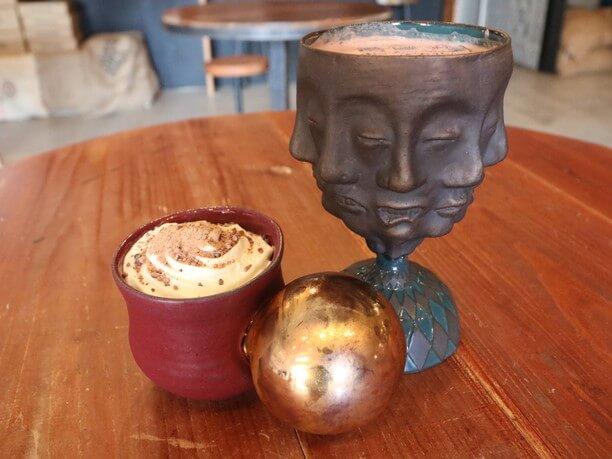 カフェで使用している陶器