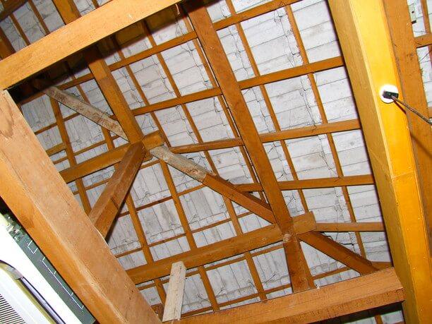 地球屋の天井