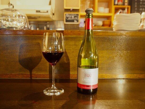 フランス・ロワール産の赤ワイン「シノン)」
