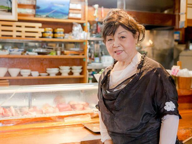オーナーの渡具知綾子さん