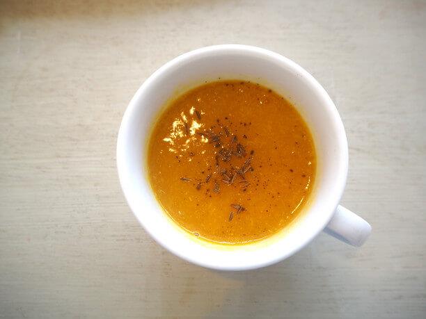 カボチャのVeganスープ