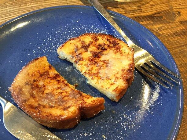 レモンをギュッ!と絞ったフレンチトースト
