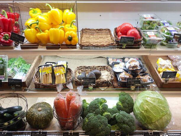 減農薬やオーガニックの野菜
