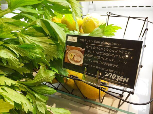広島県おおうち農園のレモ