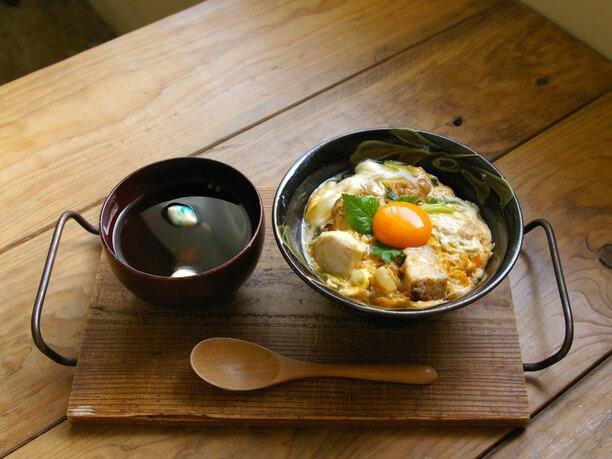 京のふわとろご近所丼