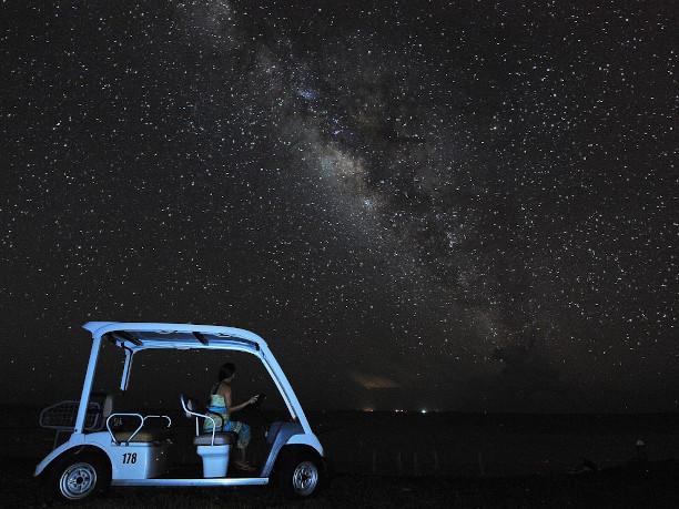 一生分の星を見ることができます