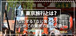 東京旅行とは?