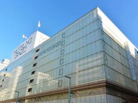 松屋銀座の全景