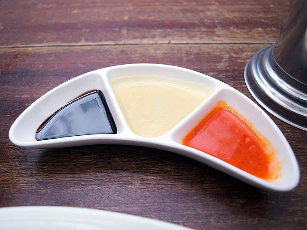 生姜ソースとチリソース