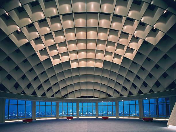 球体の天井