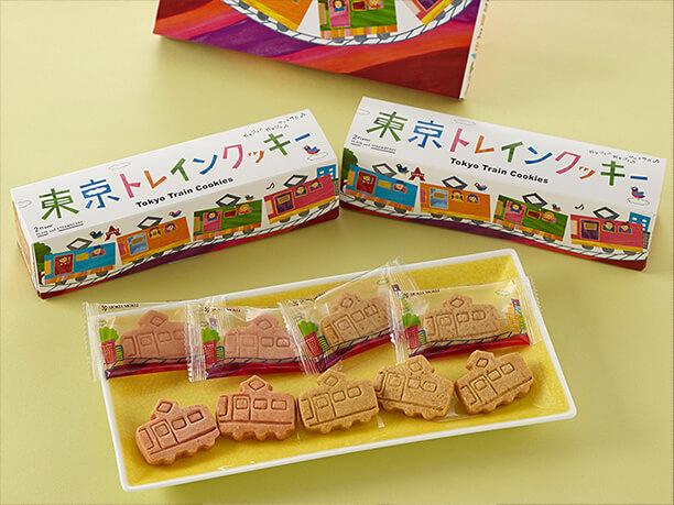ヨックモック 東京トレインクッキー
