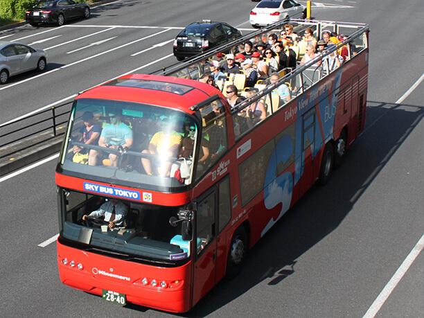スカイバス東京と乗客