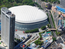 東京ドームシティ全景画像