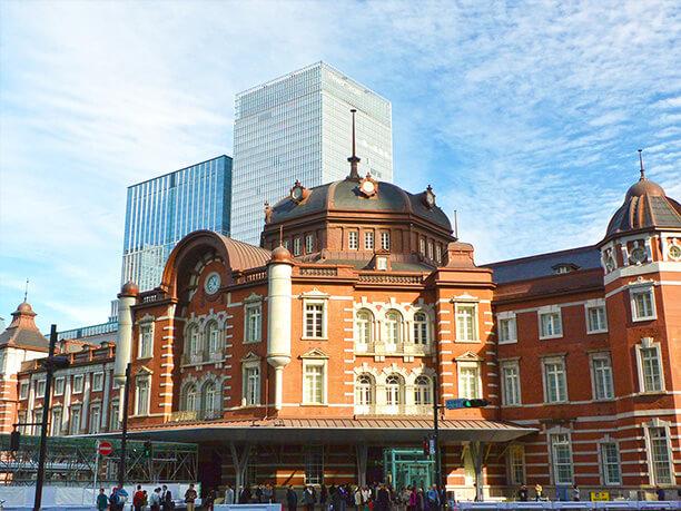 東京駅舎外観