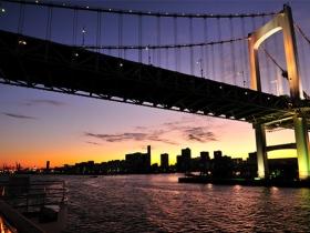 東京湾クルーズ夜景