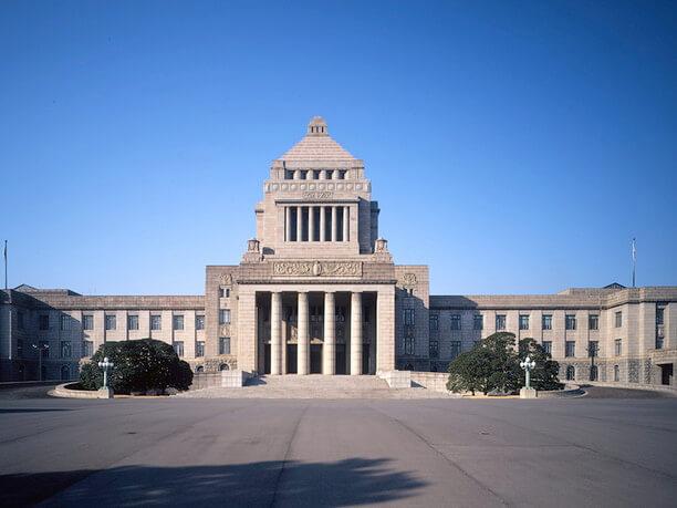国会議事堂正面