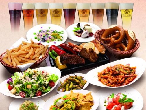 世界のビール博物館のビールと料理