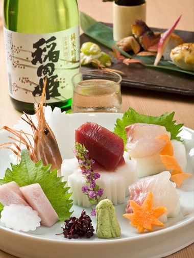 四季と酒の蔵-稲田屋 お料理
