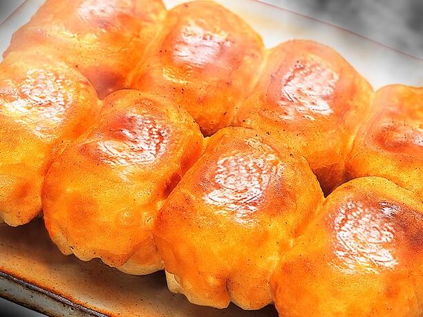 20種類以上の具材の餡がおいしい「丸満」の餃子