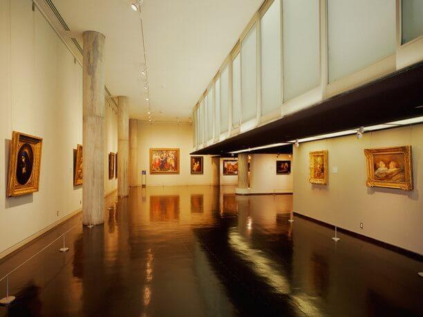 西洋美術館展示室
