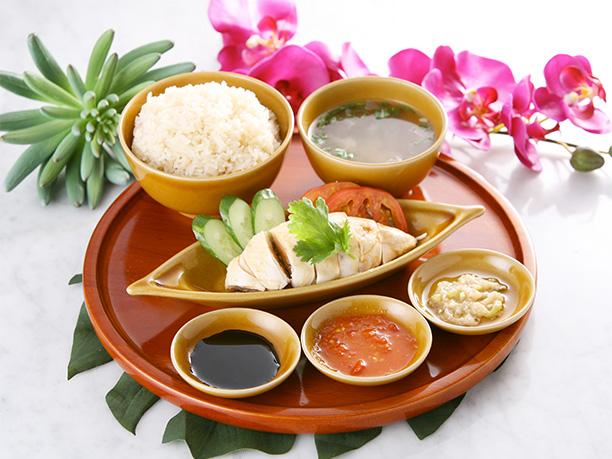 シンガポール海南鶏飯