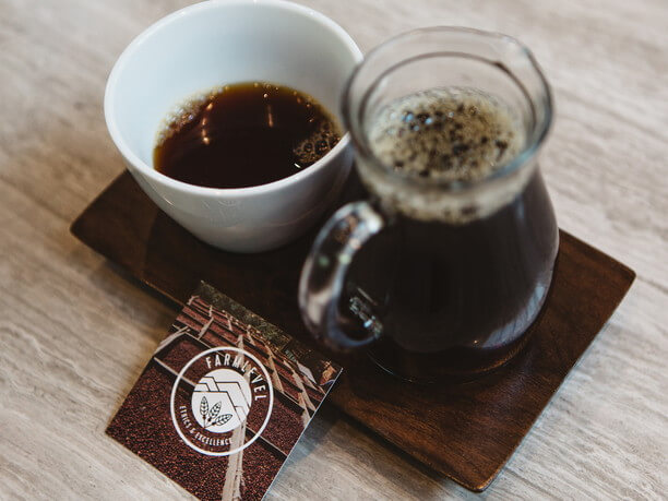 コーヒーロースターのコーヒー