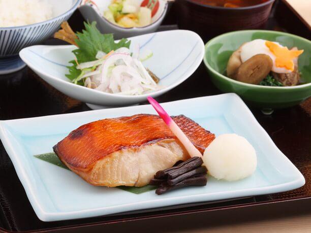 焼き魚御膳