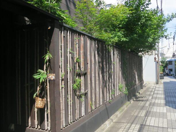 江戸情緒のある魅力的な風景